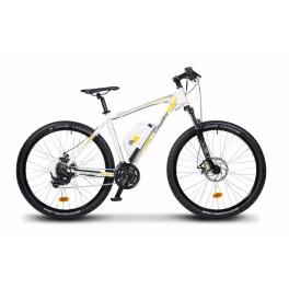 EASYBIKE MTB 600 - bílo-žluté horské
